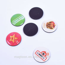 2016 custom mini cheap dome shape poly resin fridge magnets for gifts