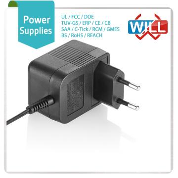 Европейский 12v 5v 0.5a адаптер переменного тока адаптивный адаптер питания