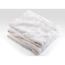 Woven Herringbone Weave 100%Cotton Blanket
