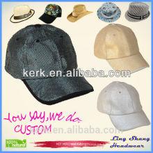 2015 la gorra de béisbol popular al por mayor superventas de la manera del casquillo calza la gorra de béisbol de la manera