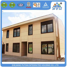 ISO,CE certificated fast build a frame homes modular house in good price