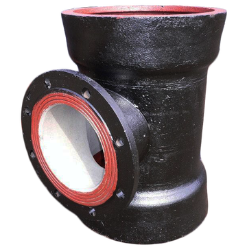 New Arrival China for Ductile Iron Equal Tee Ductile Iron Double Socket Tee With Flanged Branch supply to South Africa Factories