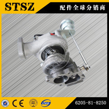 Komatsu excavator PC78US-6 turbocharger 6205-81-8250  suit for S4D95 engine Komatsu excavator spare parts