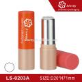 Großhandel leere Lippe Balsam Rohr für Kinder, bunte Kunststoff Kosmetik Verpackung Lippenstift Container