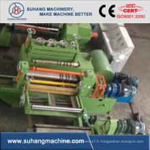 Ligne de fente en acier de puissance hydraulique entièrement automatique de bobine de l'épaisseur 0.3-2mm en métal