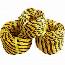 Wholesale Price for Nylon Mooring Rope Tiger Rope 3 Strand PE Rope supply to Bahamas Manufacturer