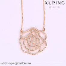 41960-Xuping generoso nuevo diseño collar de joyas para mujeres regalos
