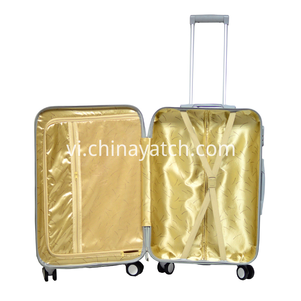 ABS Luggage Set with Attractive Grain and Competitive Price
