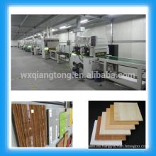 1220x2440mm MDF alto brillo máquinas de pintura UV / Muebles / metal / plástico / cerámica Líneas de recubrimiento UV