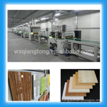 1220x2440mm MDF high gloss UV painting machines/ Furniture/metal/plastic/ceramic UV coating lines
