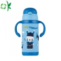 Silicone Cartoon Design Durable Sleeve Vacuum Flask Sleeve