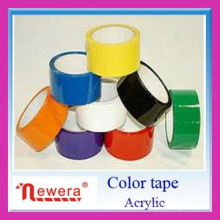 Color bopp tape with tensile strength