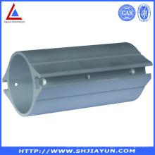 Tube en aluminium de usinage adapté aux besoins du client de commande numérique par ordinateur pour des garnitures industrielles
