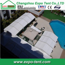 Clear Span aluminium swimming tent for rent or sale