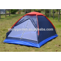 single cheap and portable camping tent with mesh