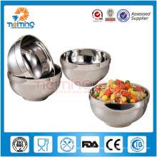 barato tazones de sopa aislados de acero inoxidable al por mayor