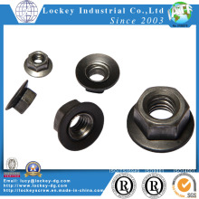 High Strength Steel Class 8 Hex Flange Nut Plain