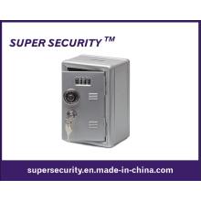 Металлический шкафчик безопасный деньги Коробка банка с кодовый замок (STB1911)