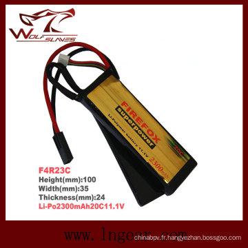 Haute qualité Firefox 2300mAh 11.1V 20C Li-Po Li-polymère batterie