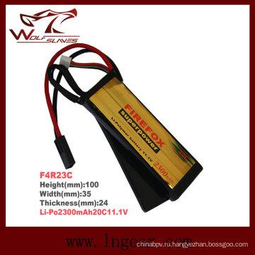 Высокое качество Firefox 2300mAh 11.1V 20 c Li-Po батарея Li-Polymer