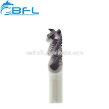 Режущие инструменты из нержавеющей стали BFL, режущие инструменты концевой фрезы чернового твердосплавного фрезерования для токарного станка с ЧПУ