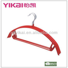 PVC Coated metal hanger with trousers bar