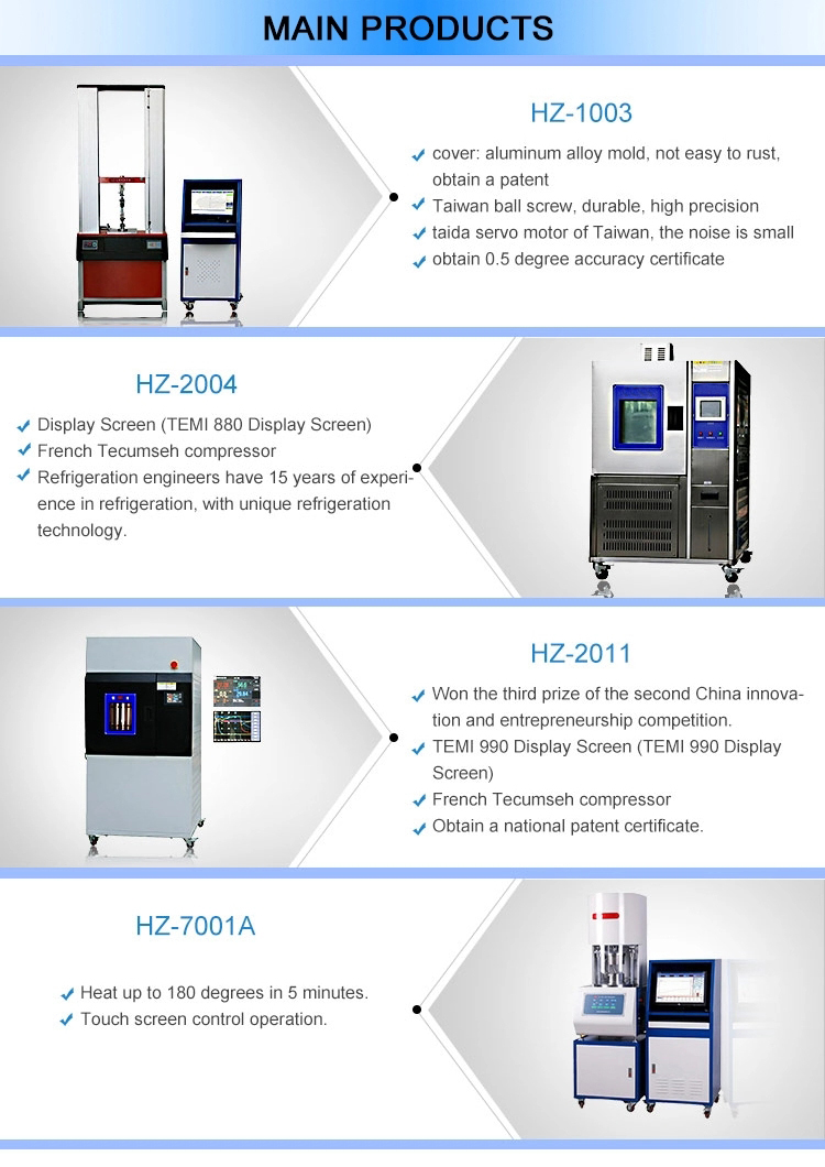 High And Low Temperature Testing Chamber