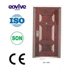 six panel door with frame,six panels steel door,six panel exterior doors,six panel door