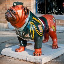 Estatua de bronce del dogo de la venta caliente