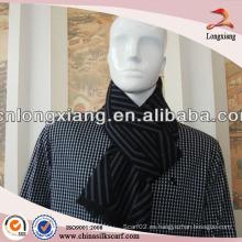 2014 nuevos hombres de invierno de moda 100% bufanda de seda mayorista
