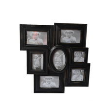 Black Collage Antique Wooden Picture Frame