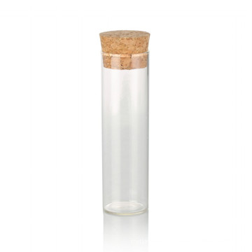 15ml clear glass bottle with cork test tube glass bottle with cork