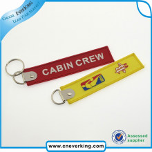 Factory Wholesale Custom Embroidery Keychain