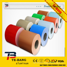 color coated aluminum coil for ceiling and gutter, painted aluminum coils, embossed painted aluminum coil