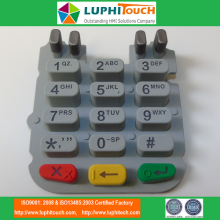 Cheapest Factory for Silicone Rubber Keypads Calculator Blind Dot Silicone Rubber Keyboard export to Japan Suppliers