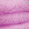 Dyed Sherpa Fleece Velvet Fabric