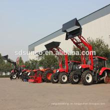 4 Wheel Drive Traktor mit Lader