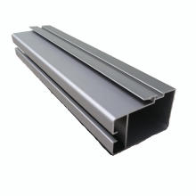 6063 T5 Windows-Gleitschienen-Aluminium-Strangpressprofile