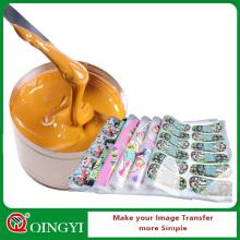 Encre offset de sublimation de haute qualité de Qingyi pour la machine d'impression offset
