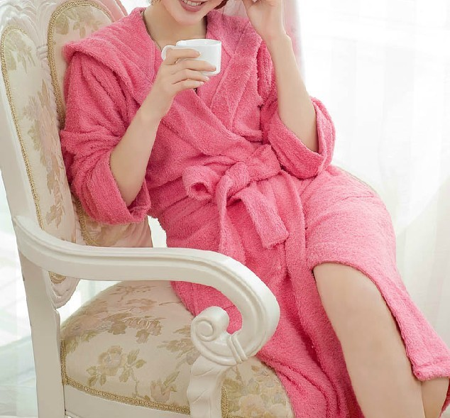 High Quality Luxury Ladies' Bathrobe