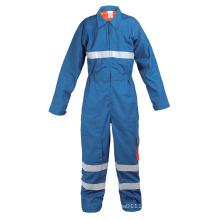 Blue Fire Retardant Protective Clothing-Yb-Zrf-1302