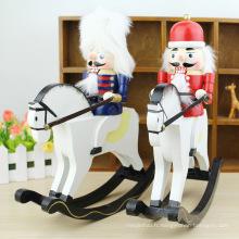FQ marque bois cadeau poupée en bois jouet soldat casse-noisette