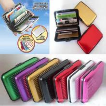 Porte-cartes de crédit promotionnel, portefeuille de carte bancaire