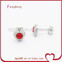 Andere Farbe Ohrring Stud