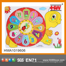 Educational wooden puzzle handheld puzzle games name puzzle for kids