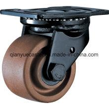 Roulettes en nylon avec roue de roulette à haute température 280 ° de centre de gravité