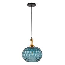 Lámpara colgante bombilla edison de cristal globo de cristal