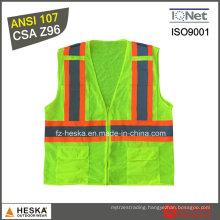 Custom Reflective High Visibility Safety Waistcoat
