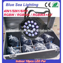 LED 18pcs 12w Par light 4in1 RGBW indoor par light factory price