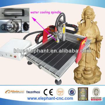 high quality 6090 mini cnc machine center/mdf wood cutting machine